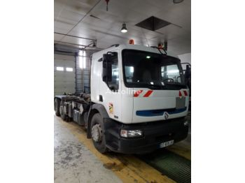 Hook lift truck RENAULT 385.26