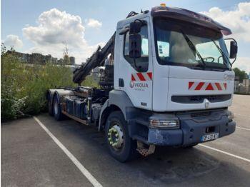 Hook lift truck RENAULT KERAX380