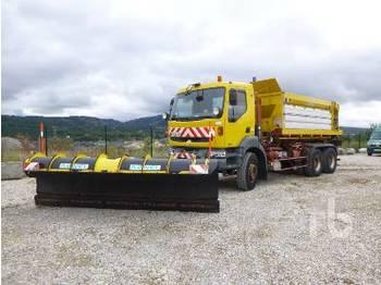 Hook lift truck RENAULT KERAX 370 DCI 6x4
