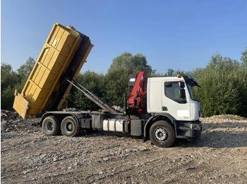 Hook lift truck RENAULT Lander