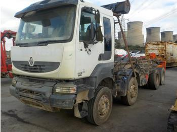 Hook lift truck  Renault 450DXI
