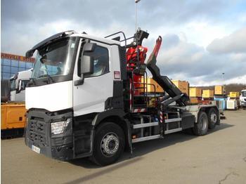 Hook lift truck Renault C460.26 460.26