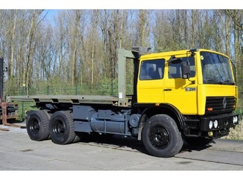 Renault G290 FLATBED TRUCK - hook lift truck