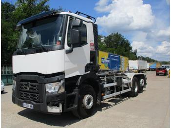 Hook lift truck Renault Gamme T 460 P6X2 E6