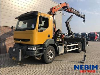 Hook lift truck Renault KERAX 370 Euro 3 6x4 - PALFINGER PK21000 R/C