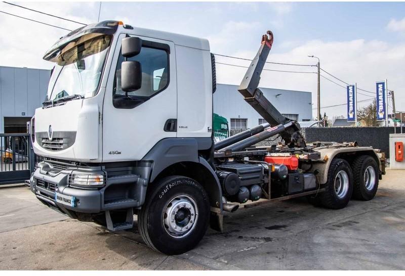 hook lift truck Renault KERAX 450 DXI - PALIFT (2011)