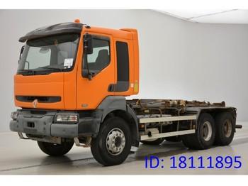 Hook lift truck Renault Kerax 320 DCi - 6x4