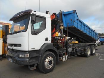Hook lift truck Renault Kerax 370 DCI