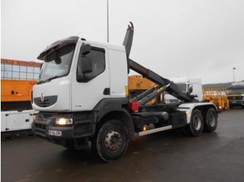 Hook lift truck Renault Kerax 370 DXI