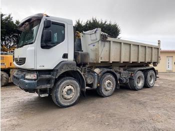 Hook lift truck Renault Kerax 410
