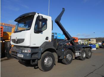 Hook lift truck Renault Kerax 410 DXI
