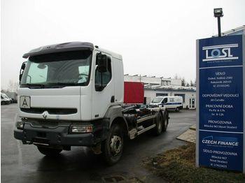 Hook lift truck Renault Kerax 420DXi 6x4 EURO 3