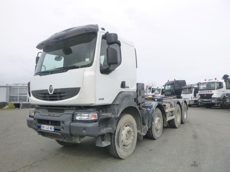 hook lift truck Renault Kerax 480 DXI