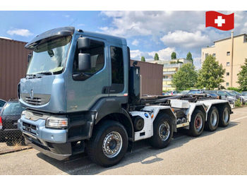 Hook lift truck Renault Kerax 500 10x4