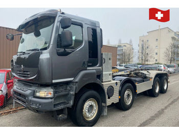 Hook lift truck Renault Kerax 520 8x4