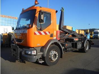 Hook lift truck Renault Midlum 220 DCI
