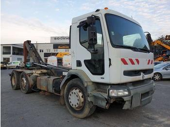 Hook lift truck Renault Premium 340 6/2/4