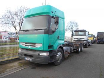 Hook lift truck Renault Premium 420