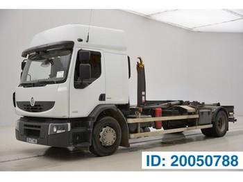 Hook lift truck Renault Premium 430 DXi