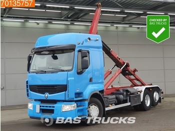 Hook lift truck Renault Premium 460 6X2 DXI Lift-Steering Axle EEV