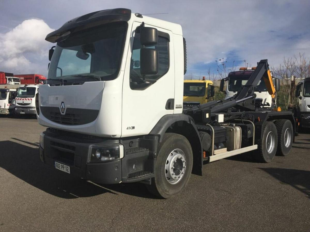 hook lift truck Renault Premium Lander 410 DXI