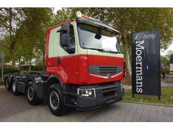 Hook lift truck Renault Premium Lander 460.32 8x2/6