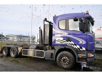 Hook lift truck SCANIA 144 GB6X2NA 530