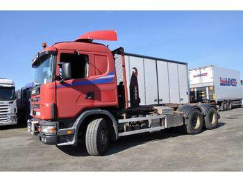 Hook lift truck SCANIA 164 480