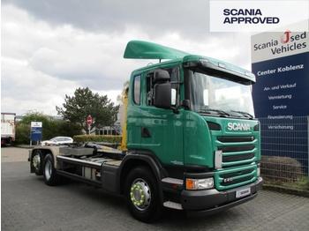 Hook lift truck SCANIA G410 LB 6X2*4 HSA - PALFINGER ABROLLKIPPER - SCR