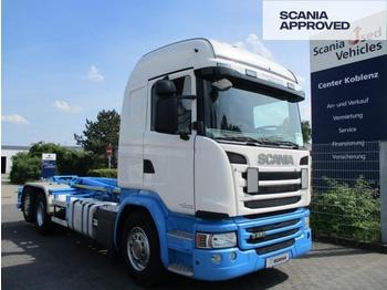 Hook lift truck SCANIA G450 LB 6X2*4 HNA - VDL Abrollkipper - SCR ONLY