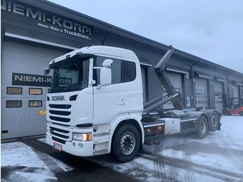 Hook lift truck SCANIA G 490