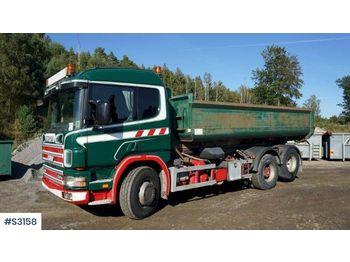 Hook lift truck SCANIA P124 6x2 Hook Truck