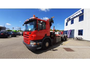 Hook lift truck SCANIA P400