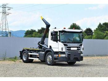Hook lift truck SCANIA P 250 Emelőhorgos