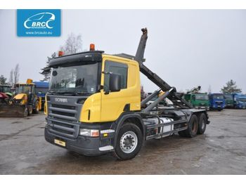 SCANIA P 380 - hook lift truck