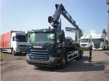 SCANIA P 400 6x4 - hook lift truck