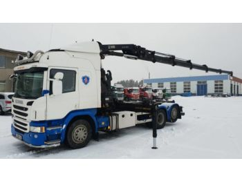Hook lift truck SCANIA P 450