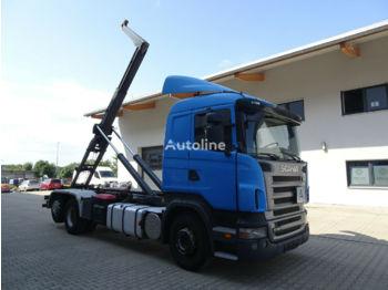 Hook lift truck SCANIA R420 6x2 Emelőhorgos Meiller felépítmény
