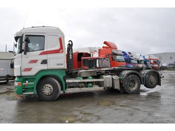 Hook lift truck SCANIA R480LB6X2*4HNA