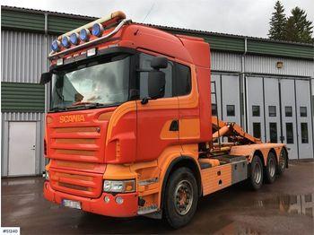 Hook lift truck SCANIA R480 8x4, Tridem Hook Truck