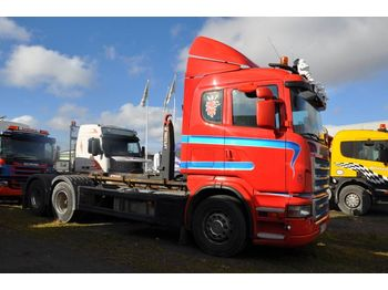 Hook lift truck SCANIA R480 LB 6X2 HHZ