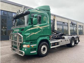 Hook lift truck SCANIA R500