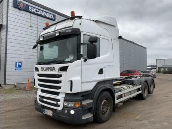 Hook lift truck SCANIA R500