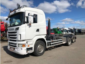 Hook lift truck SCANIA R500 6x2