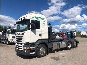 SCANIA R500 6x2 - hook lift truck