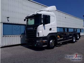 Hook lift truck SCANIA R 500 LB6x2HNA EEV Abrollkipper
