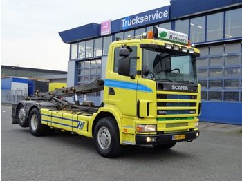Hook lift truck Scania