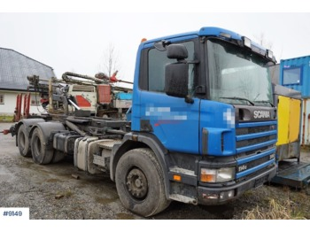 Hook lift truck Scania 114G