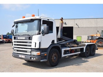 Hook lift truck Scania 114G 380 6x2 CONTAINER SYSTEEM- CONTAINER SISTEEM- CONTAINER HAAKSYSTEEM- SYSTEME CONTENEUR
