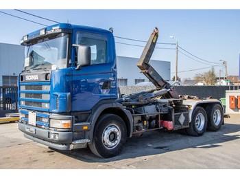 Hook lift truck Scania 124G.420 - 6X2 - 10 PNEUS / TIRES